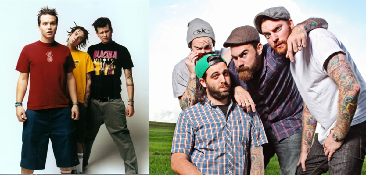 Pop-punk style then (90s/early 00s) and now. Can you see the difference?