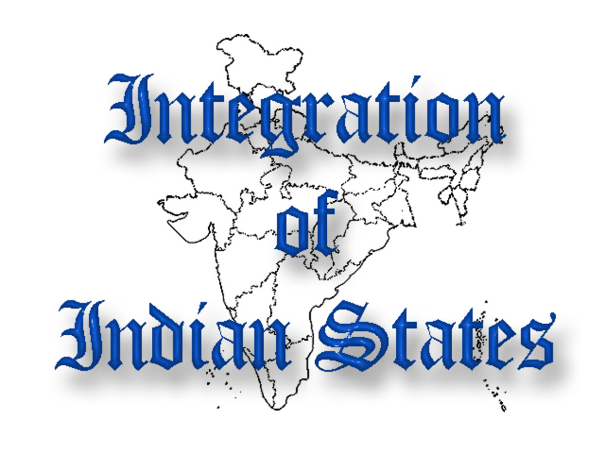 Integration of Indian States | Integration of Princely States in India