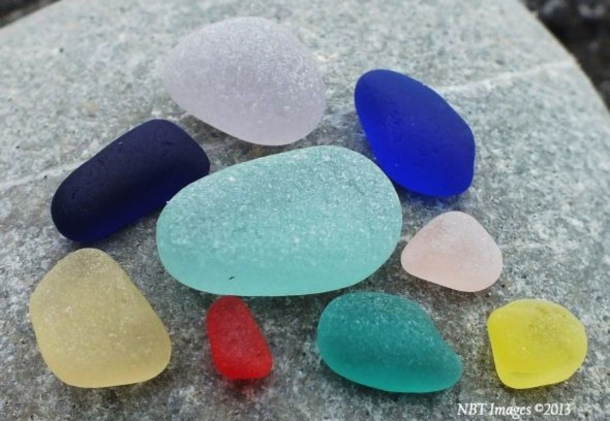 Assortment of Natural Sea Glass