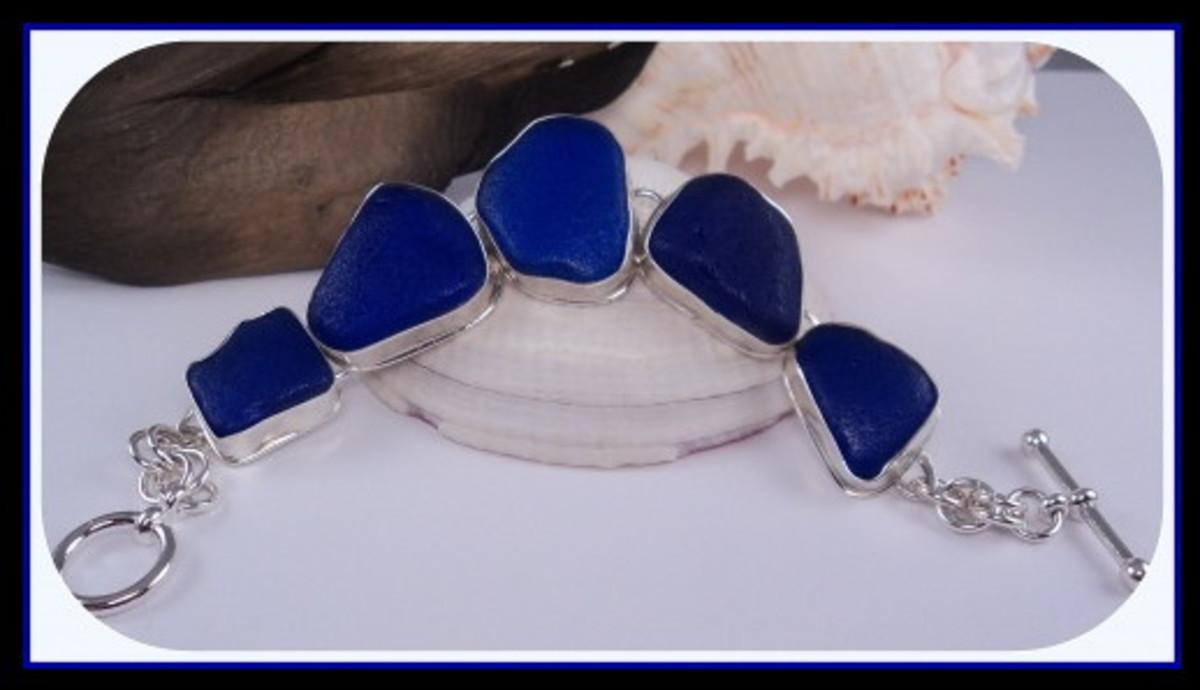 Sea Glass Bracelet by Danielle Renee Mullen