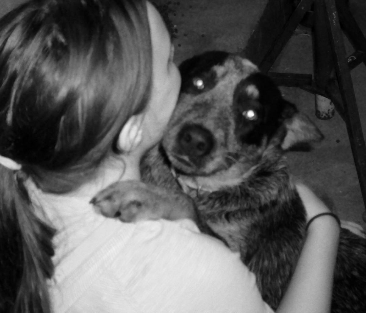 She's always been a big fan of cuddling