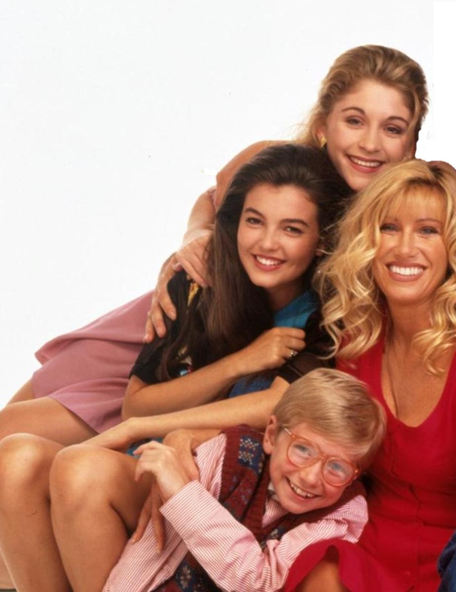 Carol and her kids, Dana, Karen, and Mark