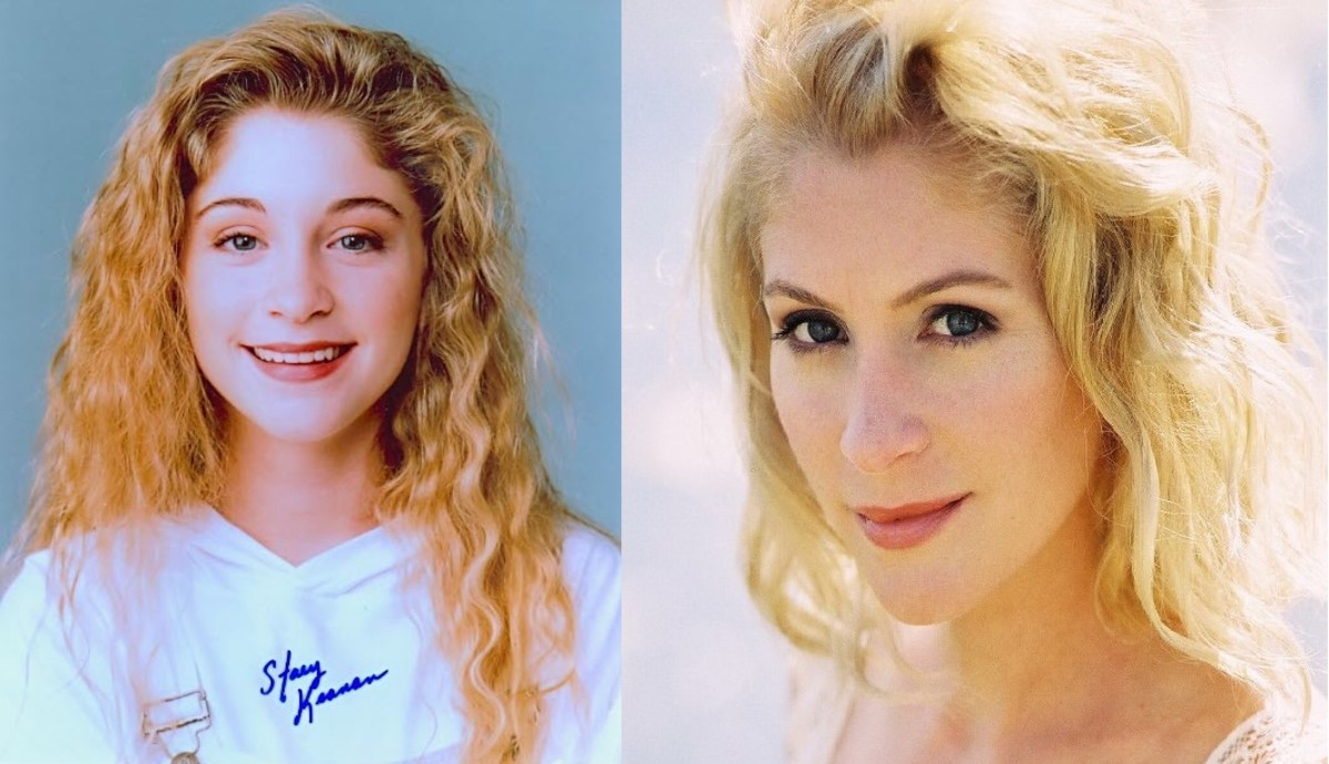 Staci Keanan: Then and Now