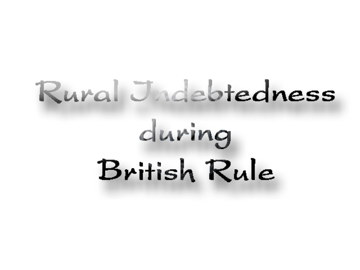 Rural Indebtedness during British Rule