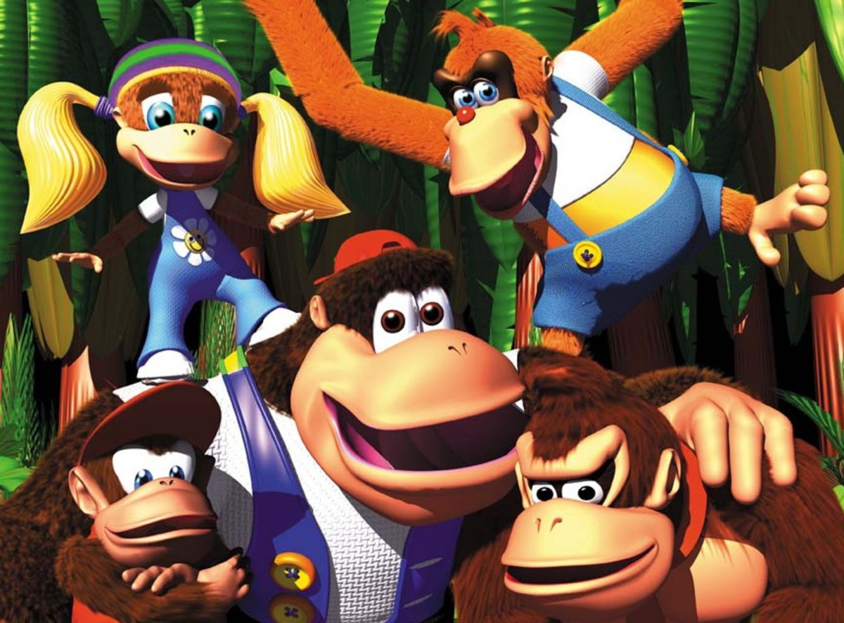 The Donkey Kong Family
