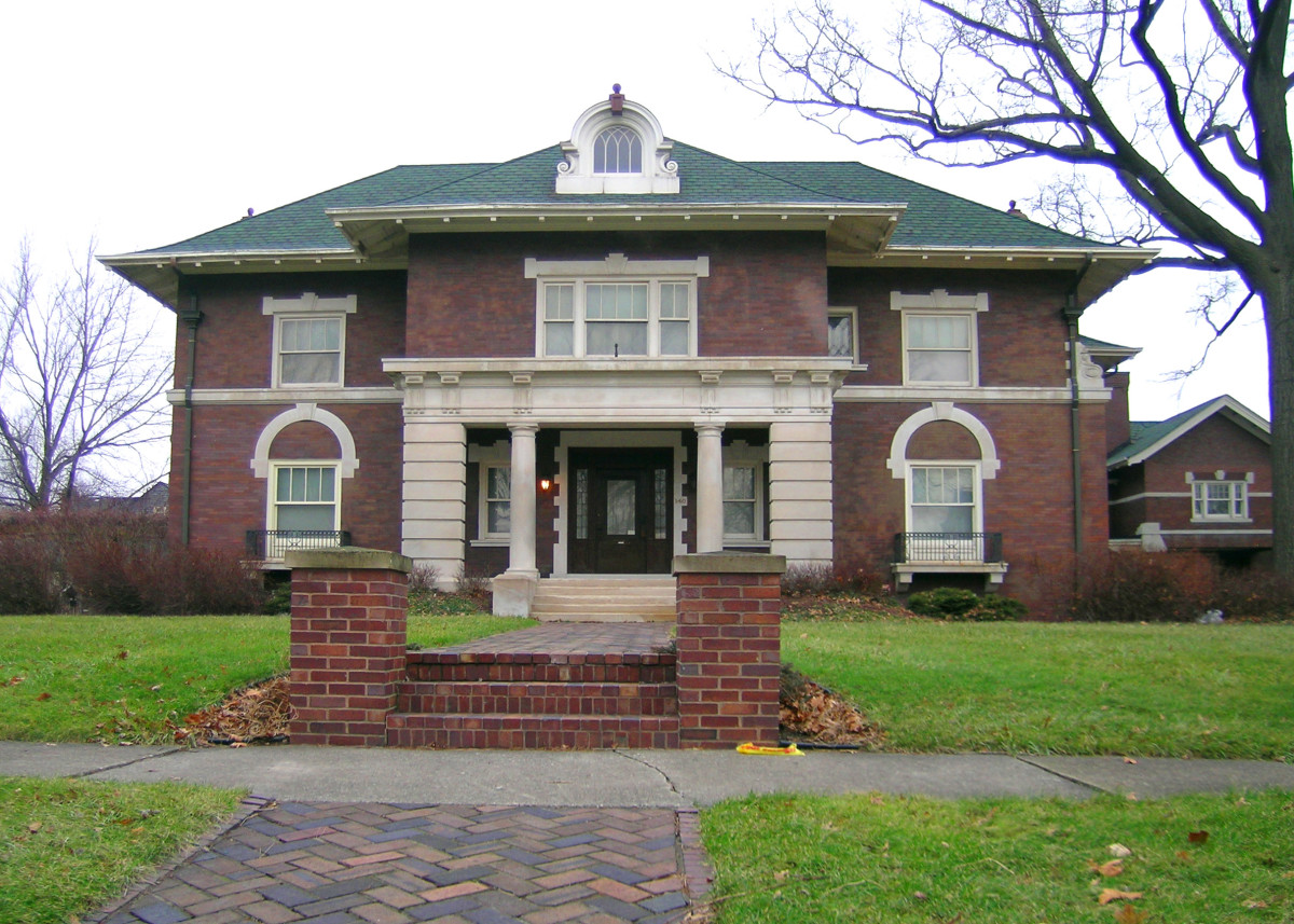 Henry Ford House, Edison Boulevard, 1908, Malcolm, Higginbotham and Clement (Henry & Clara Ford moved to Fairlane in Dearborn in 1914)