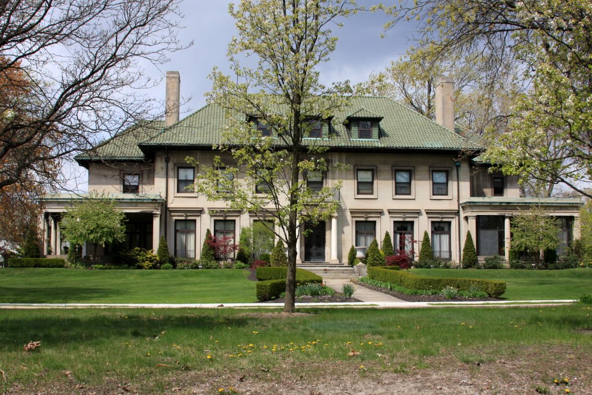 Benjamin Siegel House, 1914, Albert Kahn