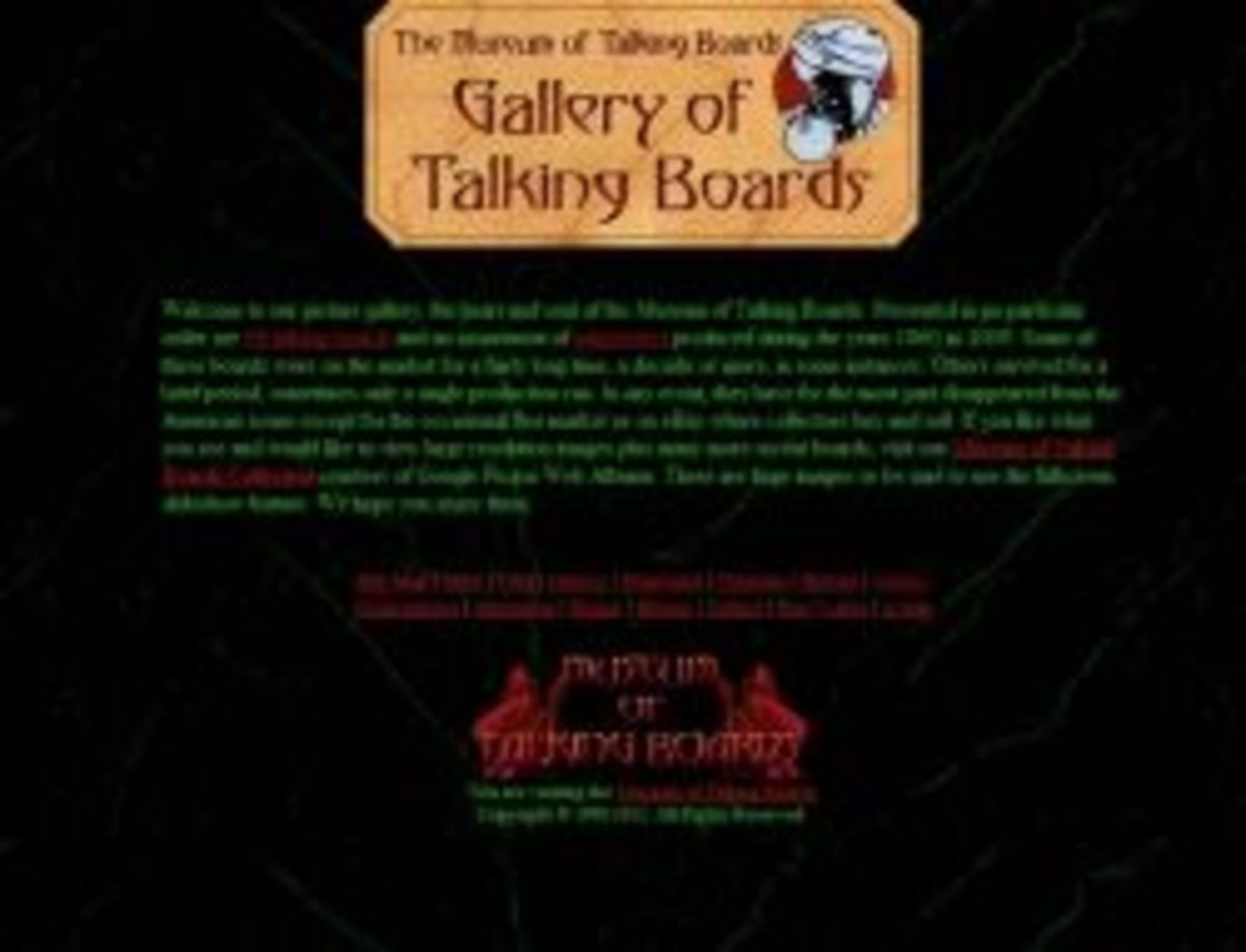 Museum of Talking Boards