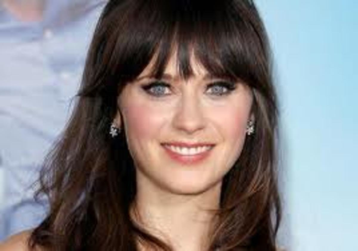 Zooey Deschanel's Makeup