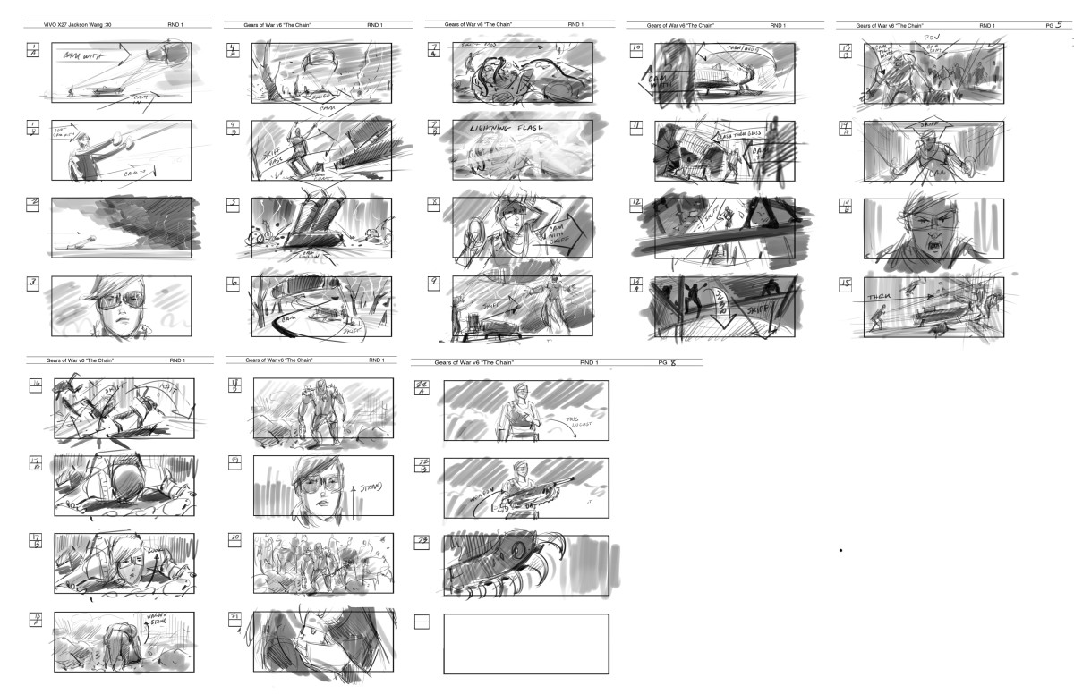 I Want to be a Storyboard Artist