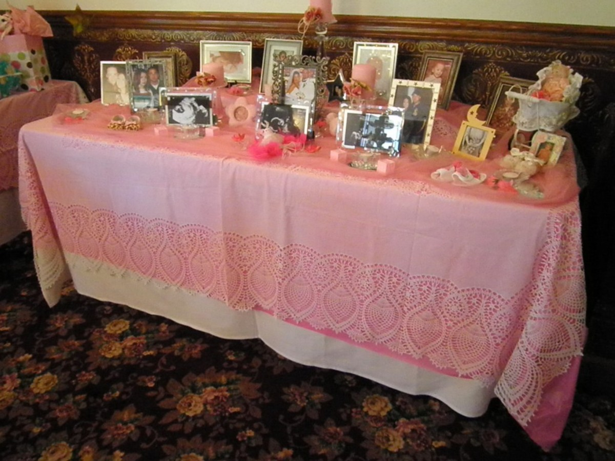 Cute ideas for an elegant and special pink baby shower theme for Baby shower hall decoration