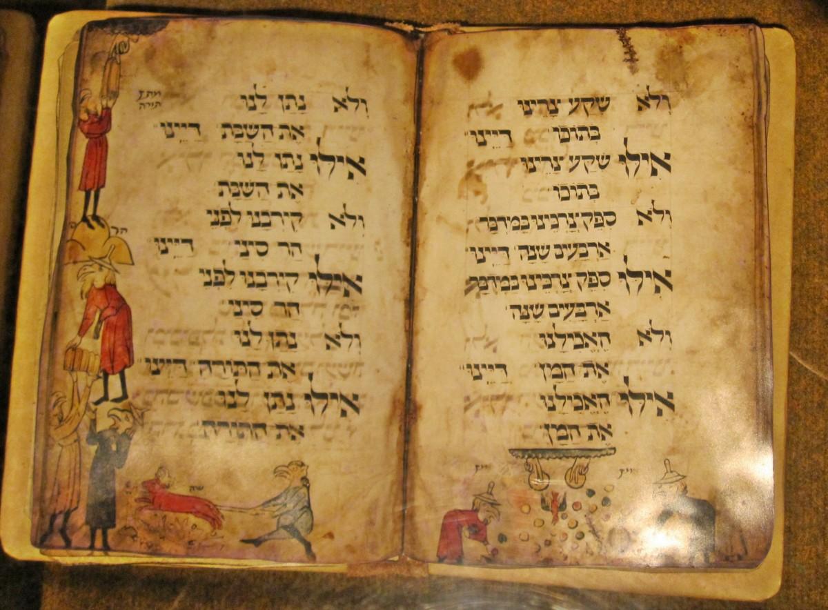 The Dayenu in Hebrew