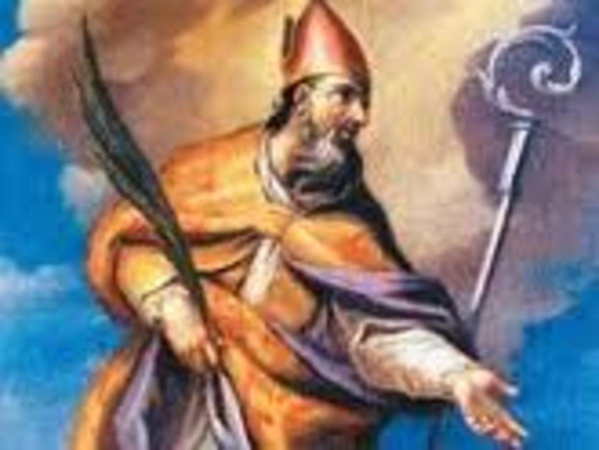 Patron Saint of Split, Sveti Duje, one of the Diocletian's most famous martyrs.  He was the archbishop of Salona.  In the 7th century, when Salona was destroyed, the seat was moved to Split where it remains to this day.