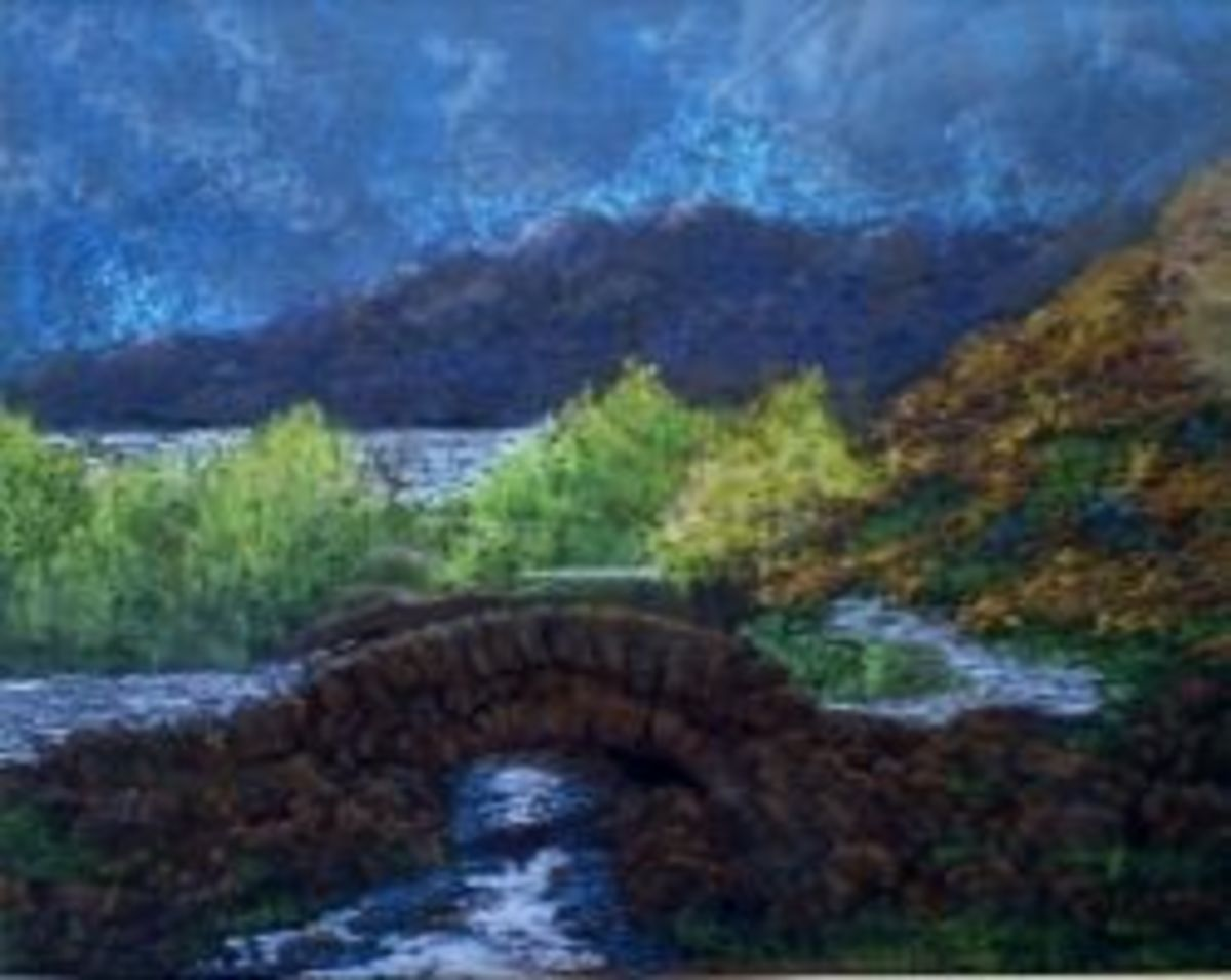 ashness bridge pastels