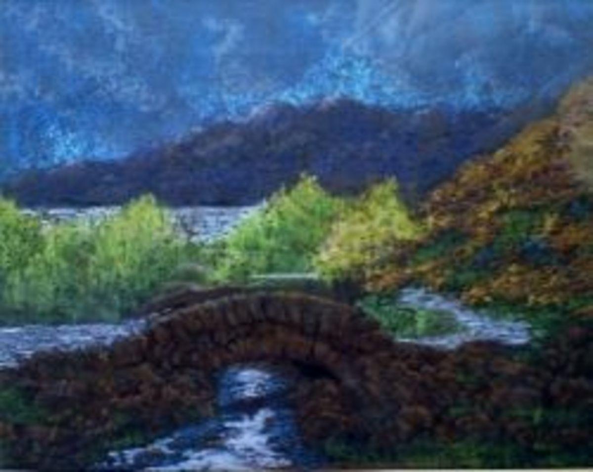 ashness bridge pastels
