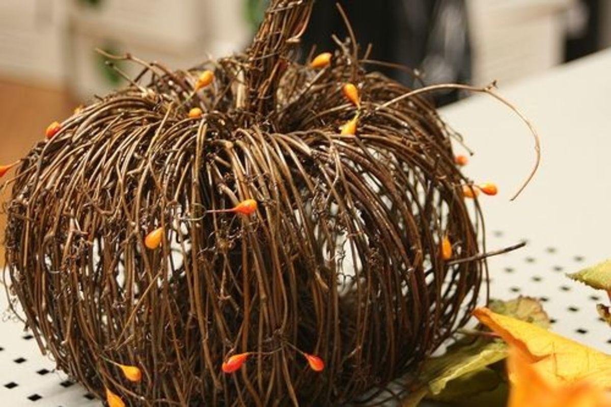 twig pumpkin