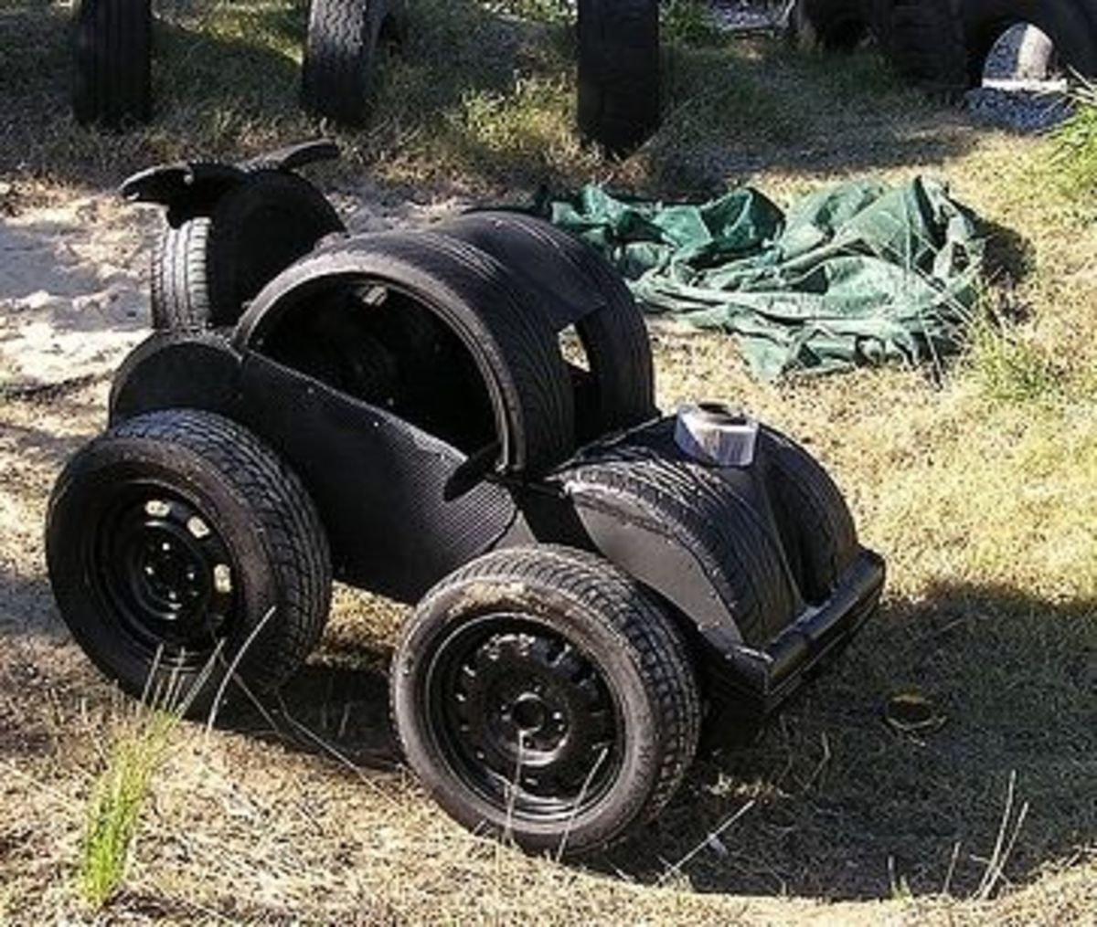Upcycling Tires