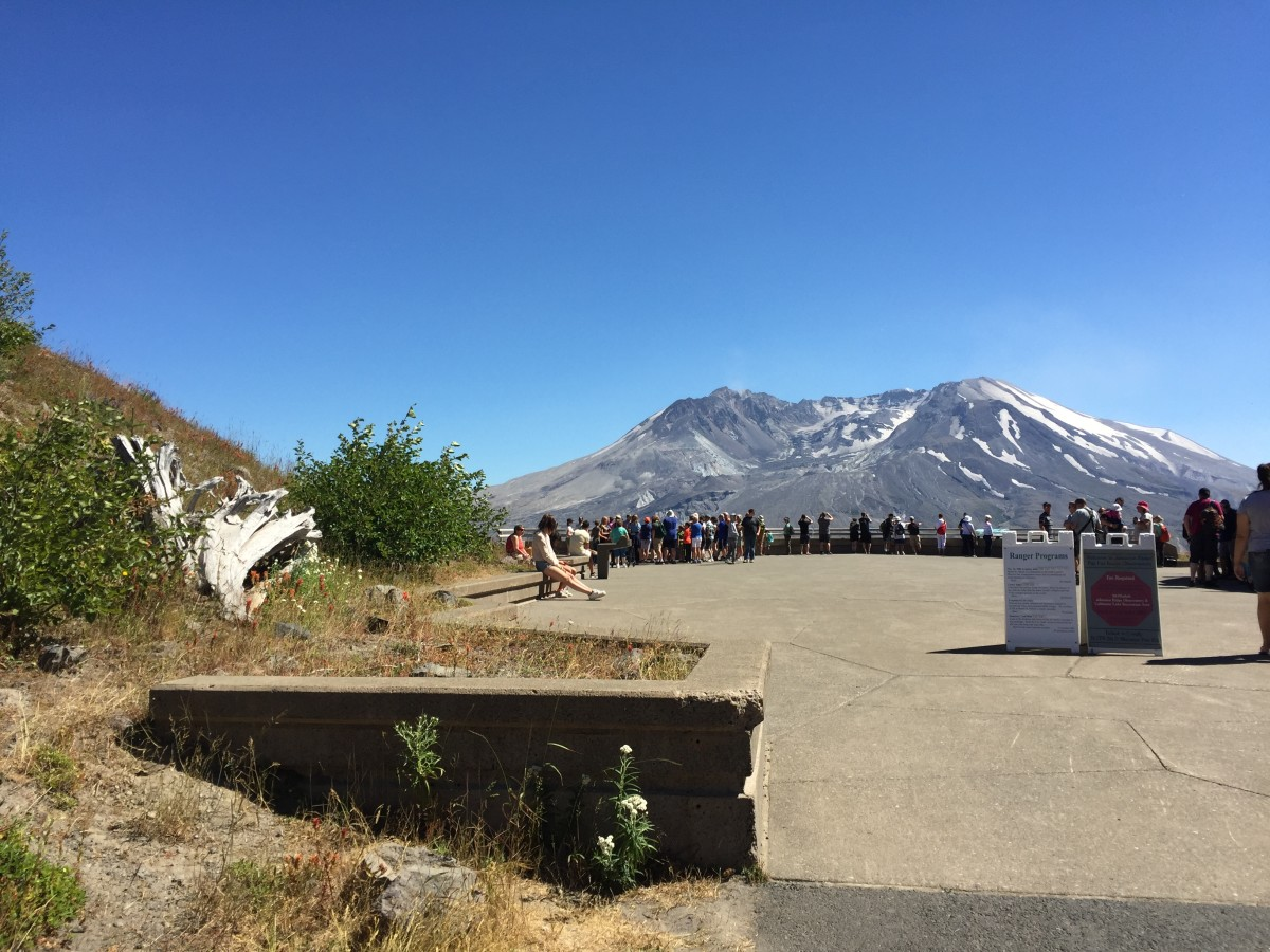 Mount Saint Helens from the Johnson Ridge Observatory