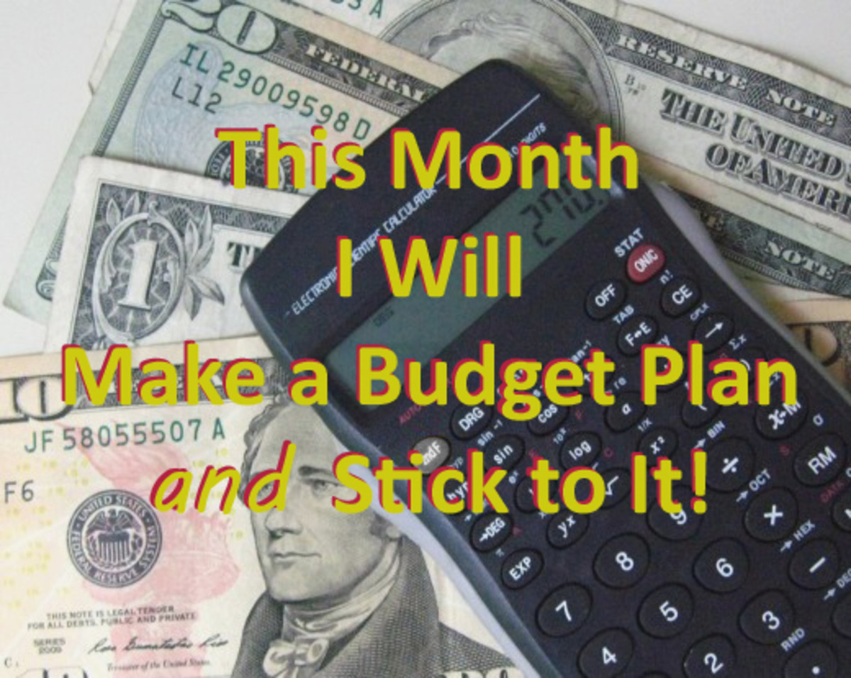 Step-by-Step Simple and Easy Family Budget