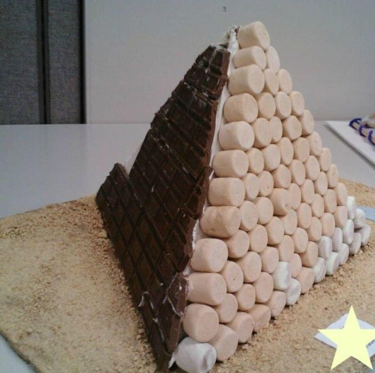 Creative 3d Pyramid