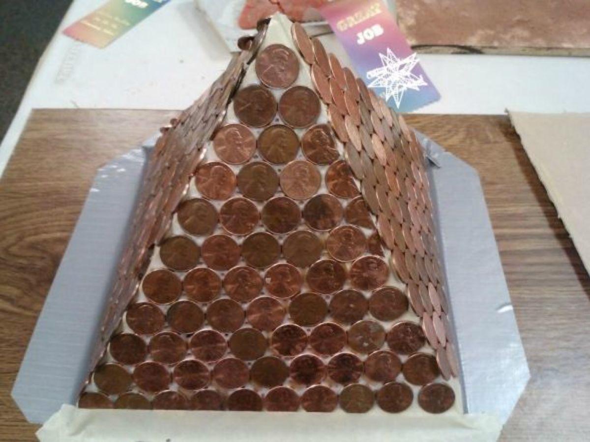 Penny 3D Pyramid