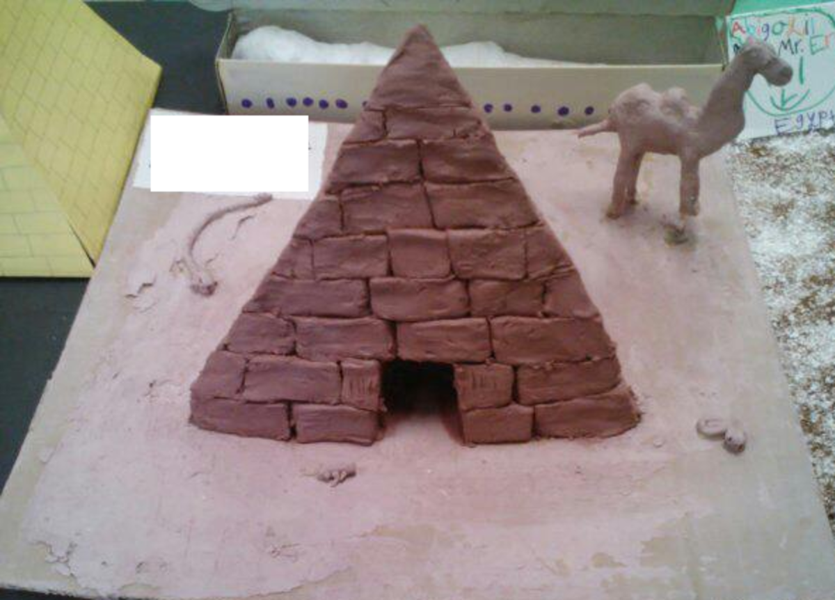 3d Model Ideas For School Project 3d Pyramid Model Project Ideas