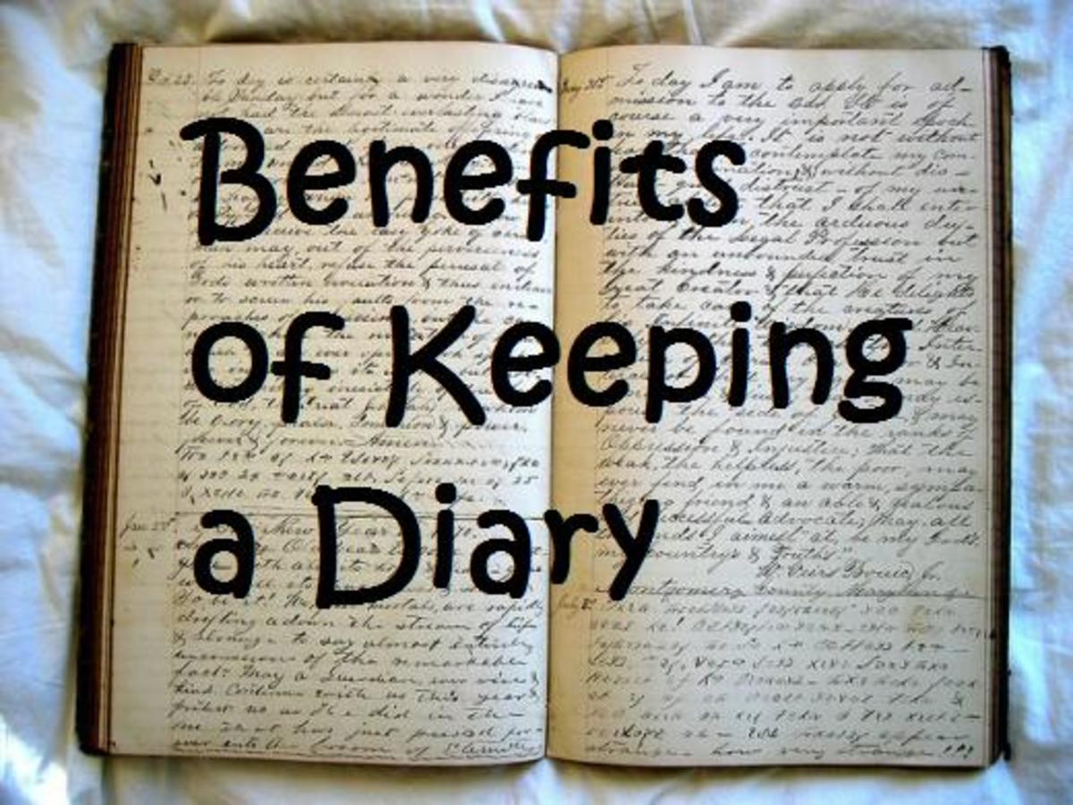 advantages of writing a diary