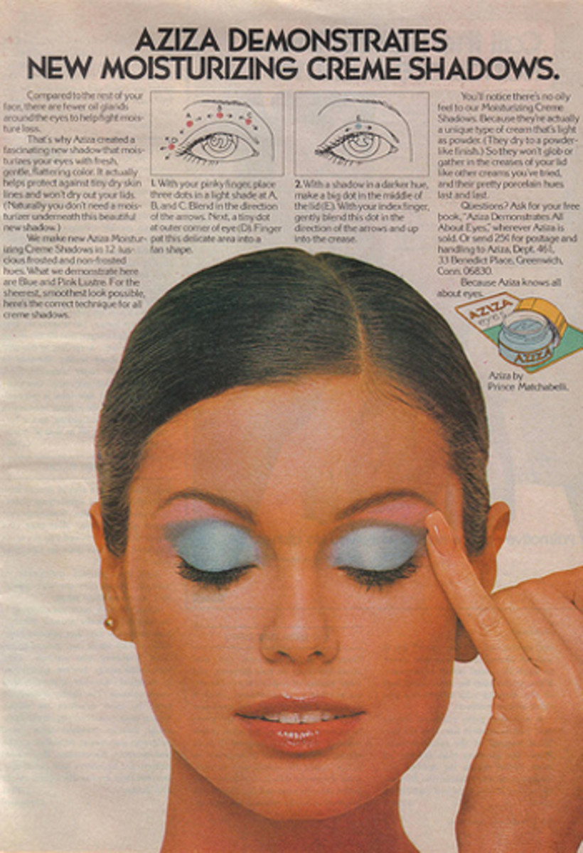 vintage eye shadow ad