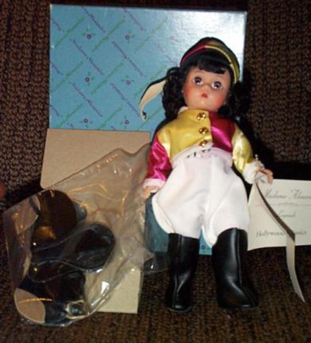 Liz Taylor National Velvet Horseback Riding Doll by Madame Alexander with the Wendy face
