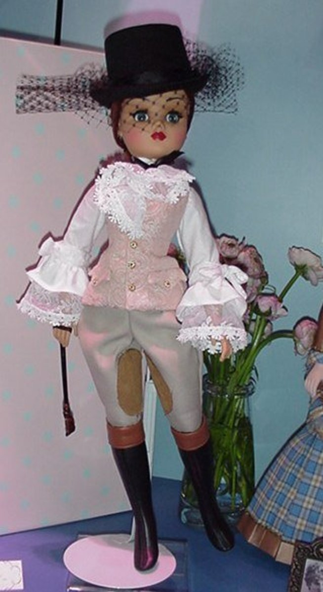 Madame Alexander Horse Back Riding Doll