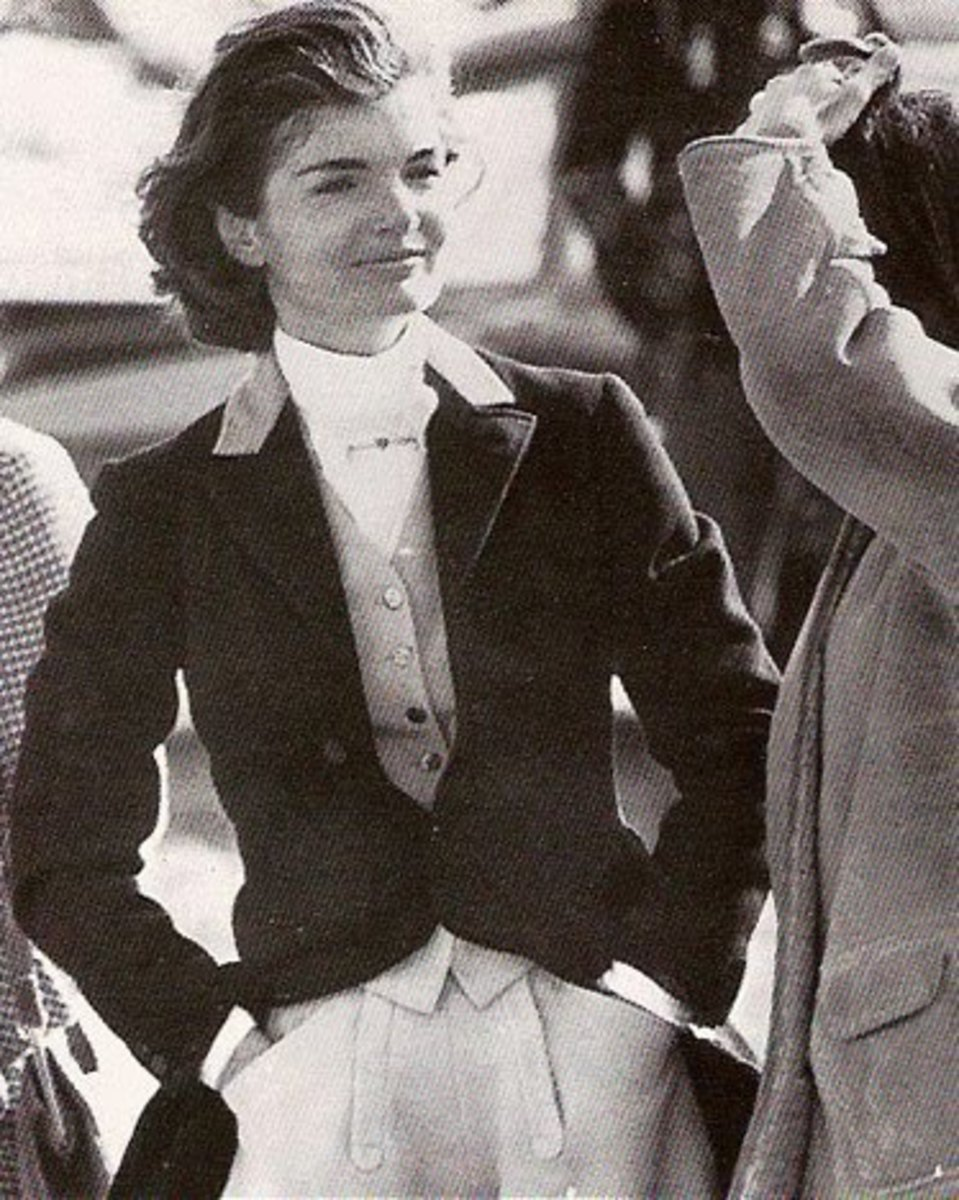 Jackie Kennedy in Classic Riding Jacket