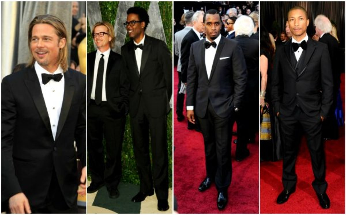 What do you notice about men in Western formal occasions? They're more or less similarly dressed, sort of like a uniform! (Not hating on conservatively dressed men, just saying..) Where is the diversity, the individuality?