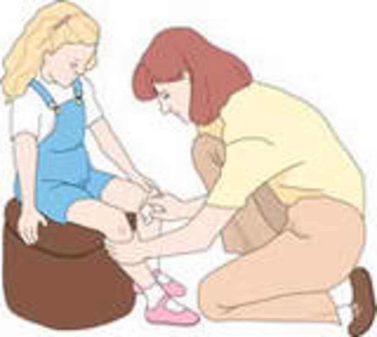First Aid in school needs willing adults - first and foremost.