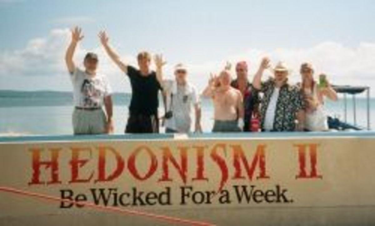 Musicians at Hedonism II Resort in Jamaica during Jamaica Rock 'n' Blues Jam 2001