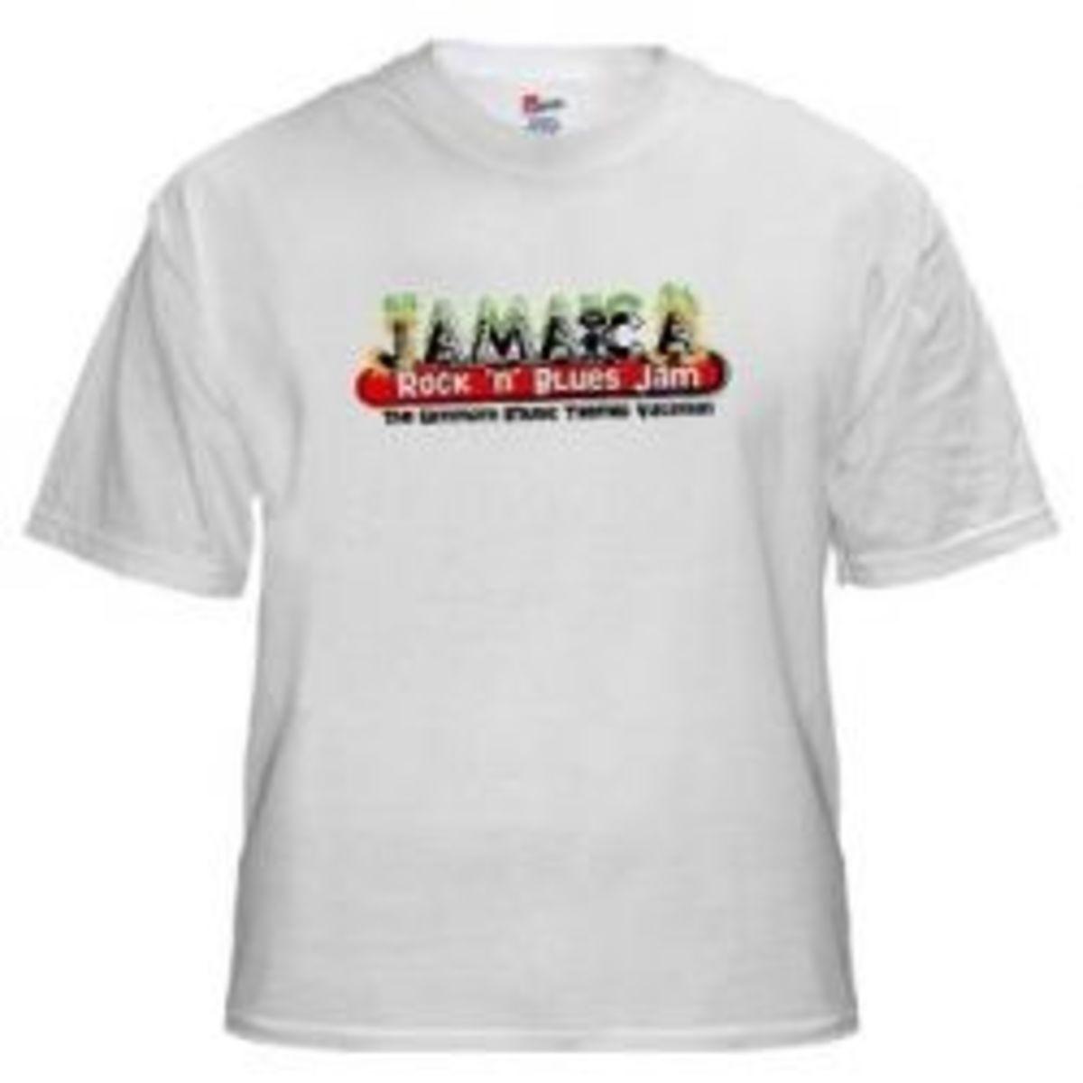 Jamaica Rock 'n' Blues Jam Shirt
