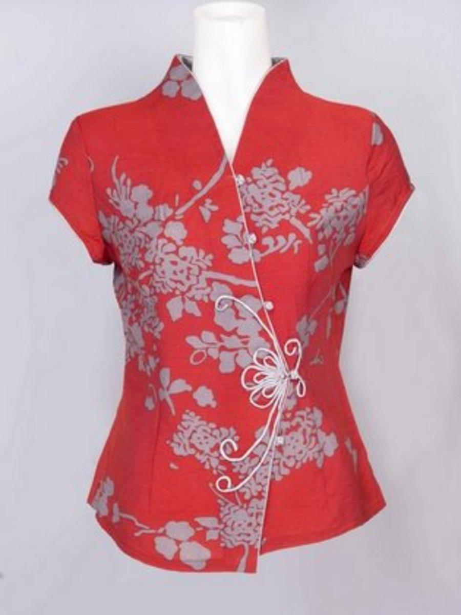 How To Sew Mandarin Collar Chinese Neckline Piece On
