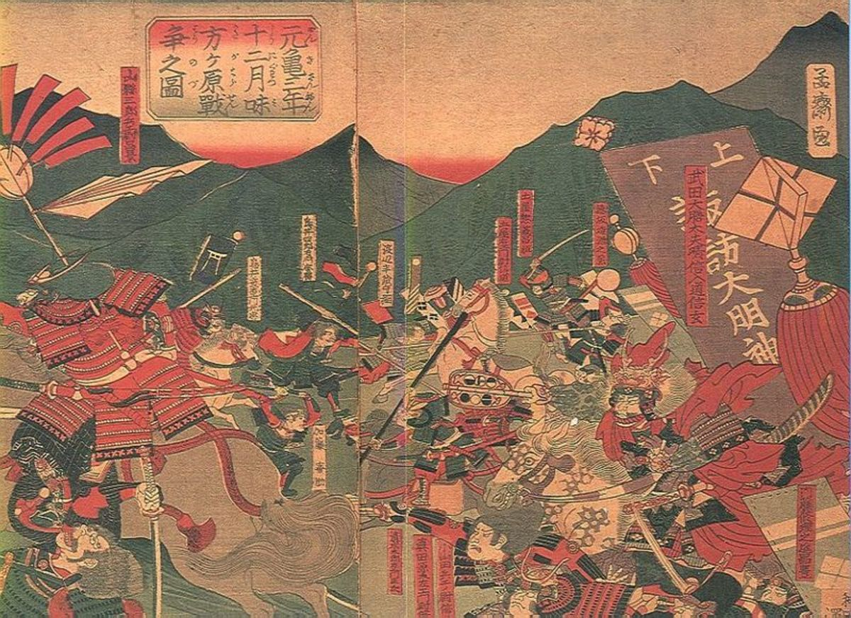 The Battle of Mikatagahara