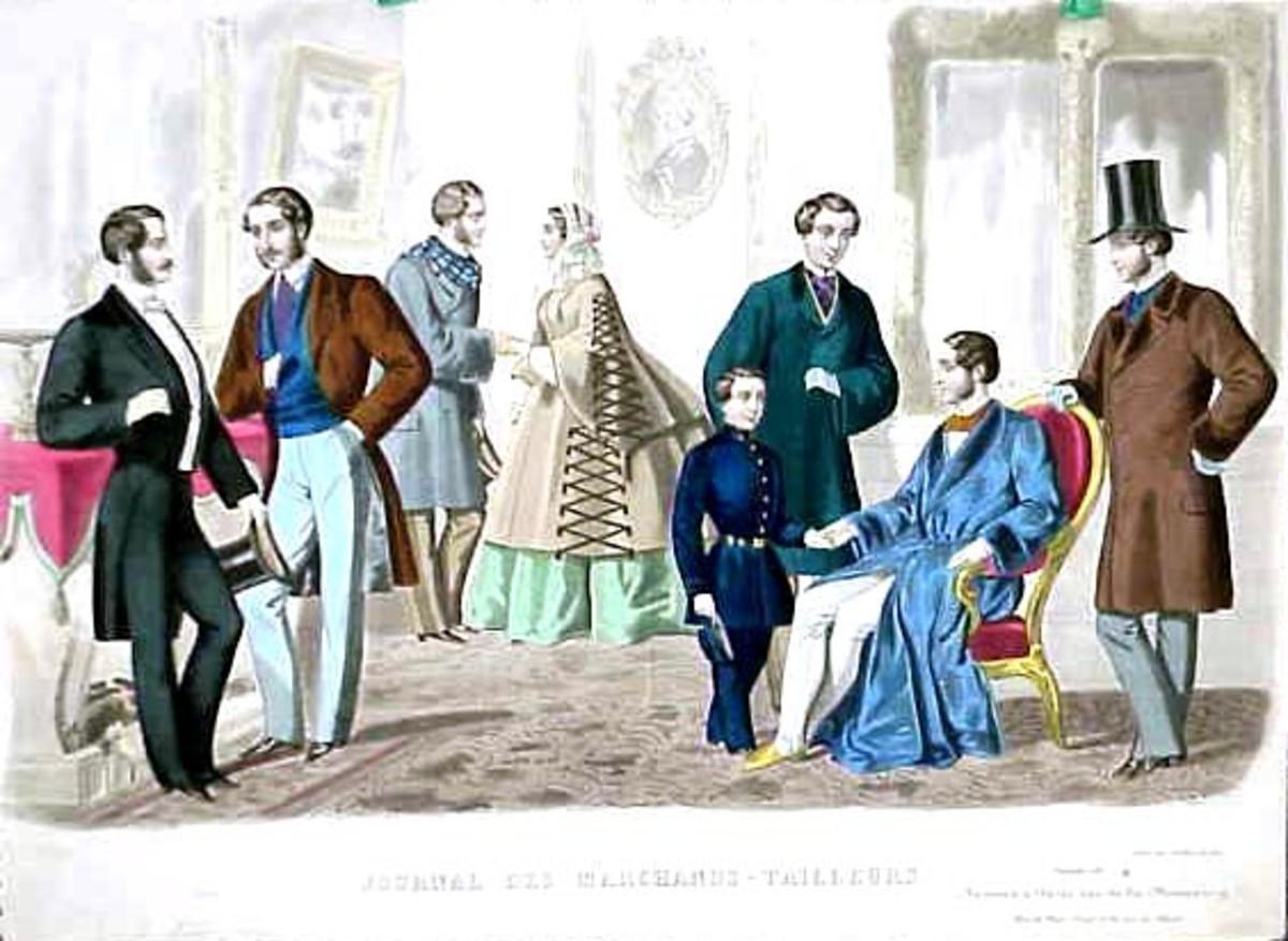 1857 Men's Fashion