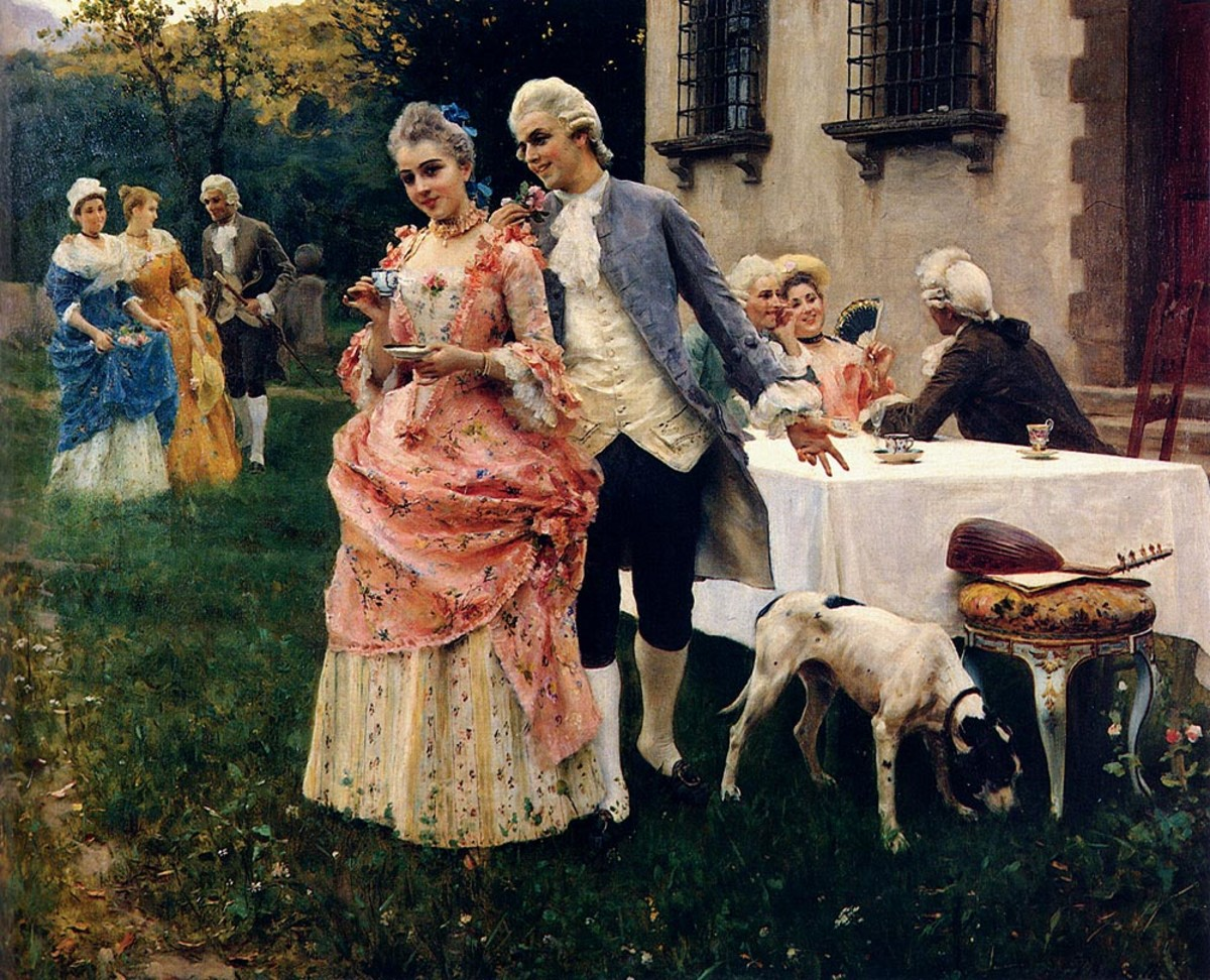 An Afternoon Tea by Federico Andreotti