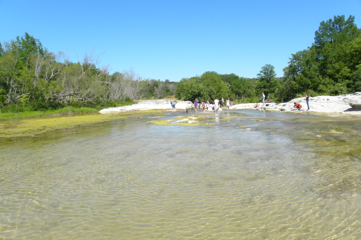 Mckinney Falls State Park Onion Creek - Austin TX