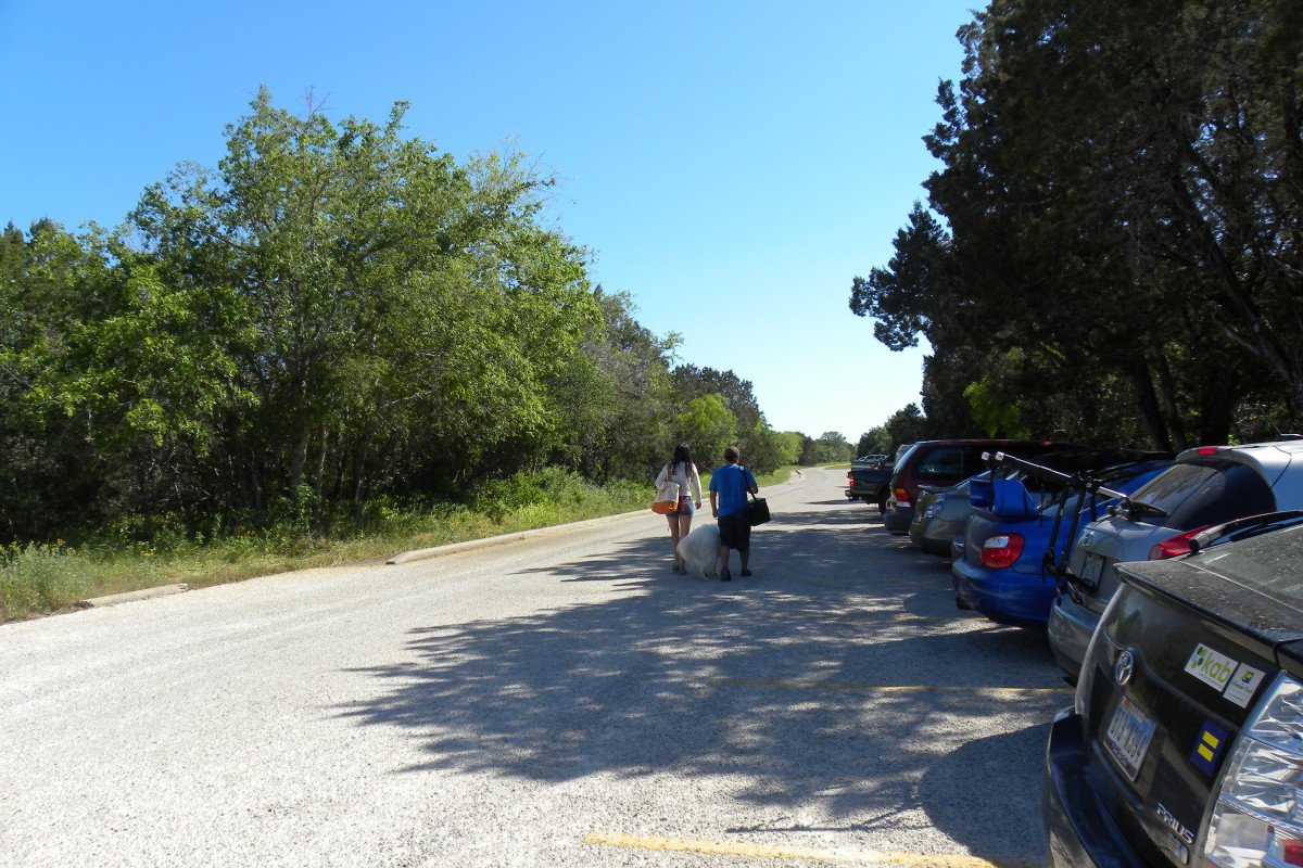 Mckinney Falls State Park Parking - Austin TX
