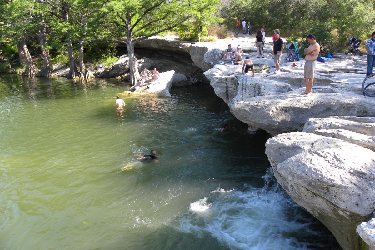 Mckinney Falls State Park Great place to cool off - Austin TX