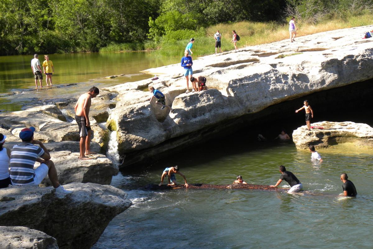 Mckinney Falls State Park Upper Falls - Austin TX