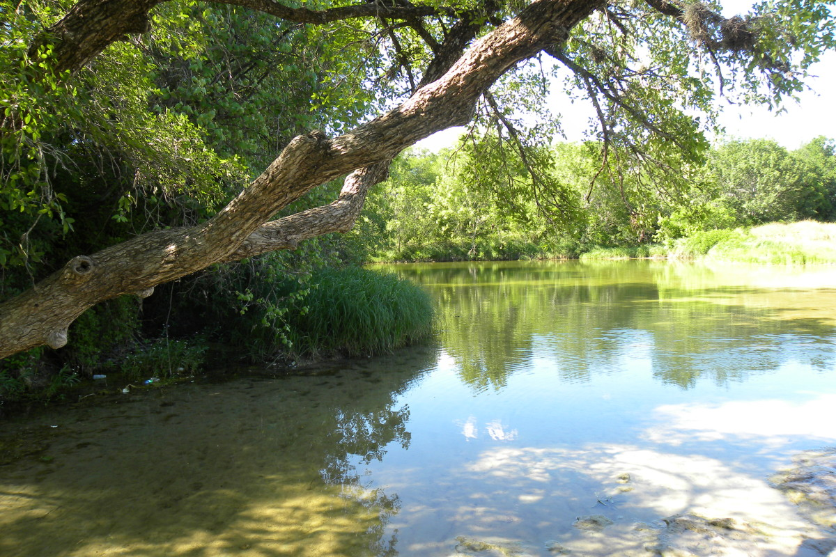 Mckinney Falls State Park enjoy the scenery - Austin TX