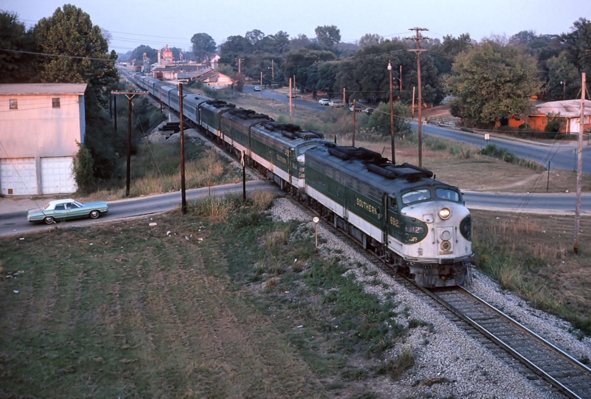 History of Named Passenger Trains in the US