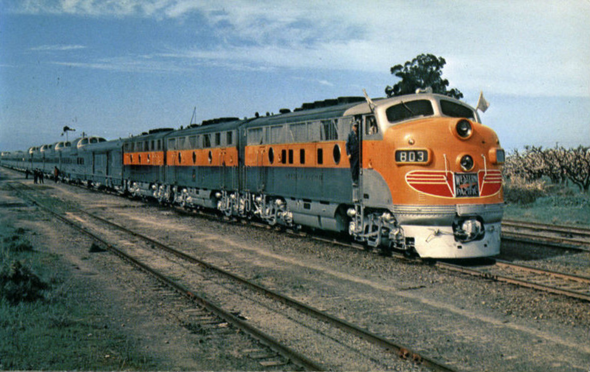 Burlington, Denver Rio Grande and Western and Western Pacific operated the California Zephyr from Chicago to Oakland/San Francisco.