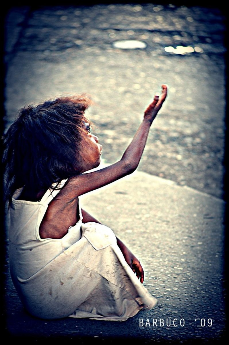 "When a child begging pokes you, what comes to your mind? Do you pretend that the little hungry being is nowhere near you? Do you look at the poor child and say, ""Go away! Go away, you prick!"" Do you stop and dig into your pocket or humbly treat?"