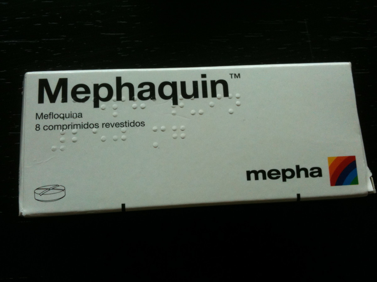 I've been taking Mephaquin to prevent malaria