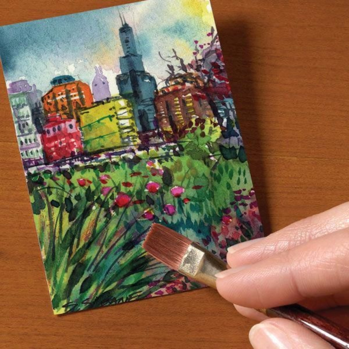 How to Make Artist Trading Cards