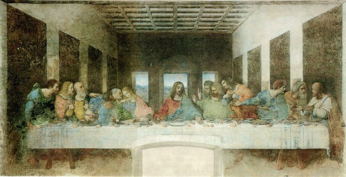 Leonardo da Vinci's The Last Supper. The painting fell into disrepair within years of its being painted. It unfortunately cannot be restored any better than it already has been.